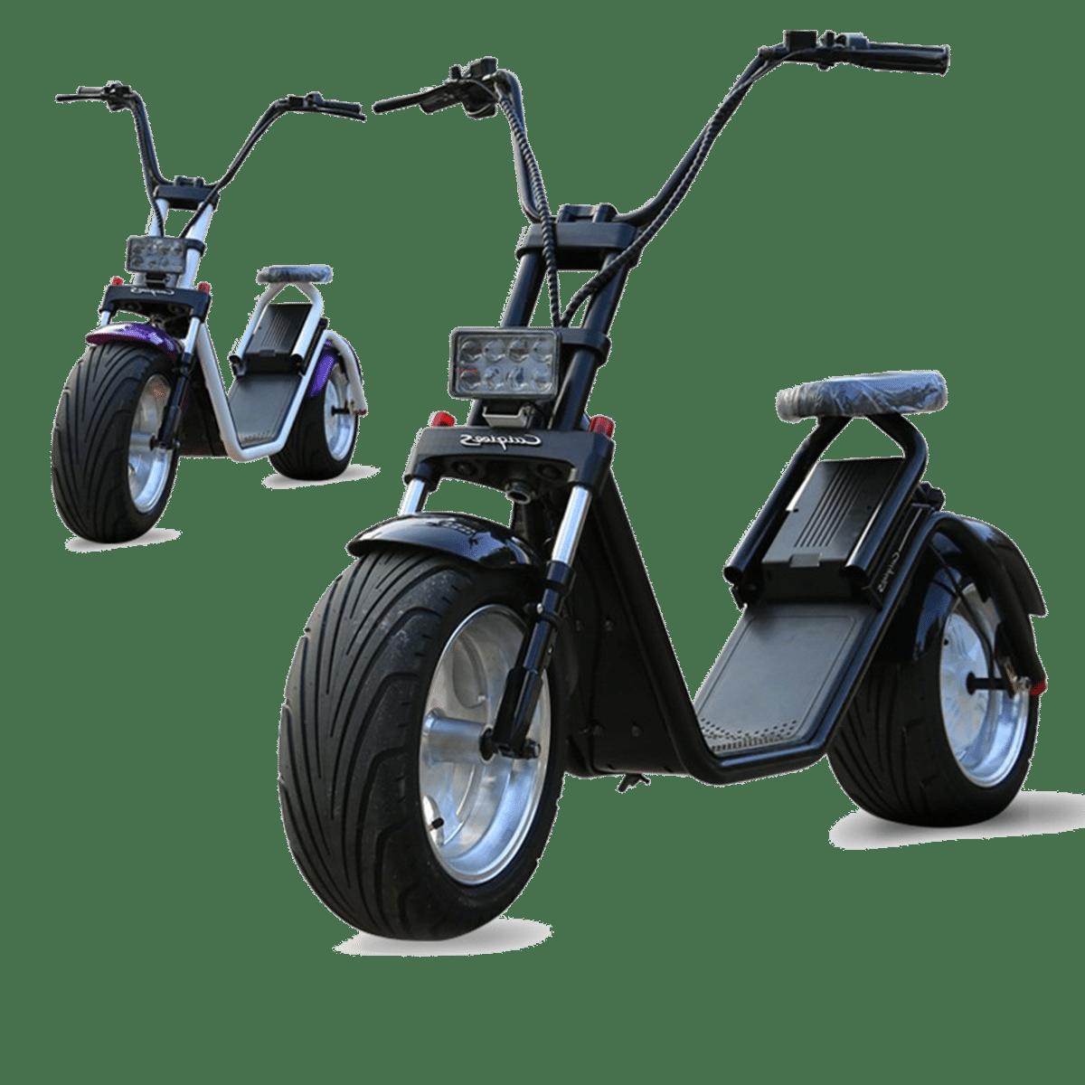 citycoco caigiees noir citycoco scooter electrique. Black Bedroom Furniture Sets. Home Design Ideas