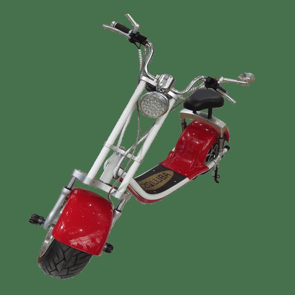 Citycoco Harley Deluxe Rouge