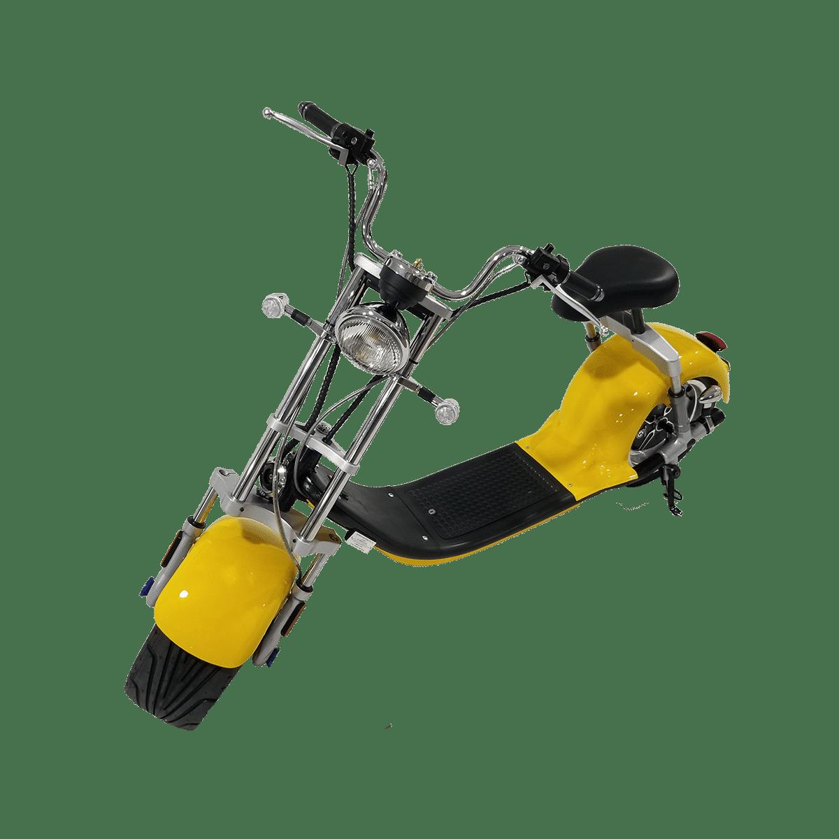 Citycoco Harley Deluxe Jaune 1190€ 10
