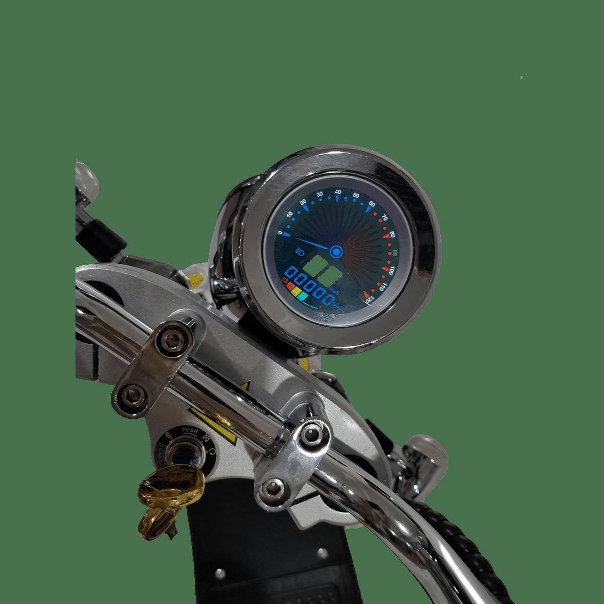 Citycoco Harley Deluxe Jaune 1190€ 6