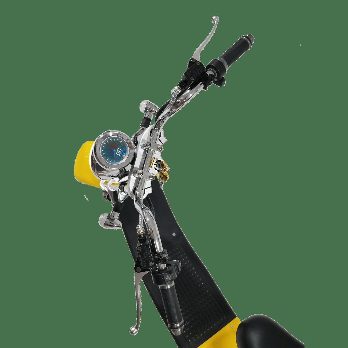 Citycoco Harley Deluxe Jaune 1190€ 5