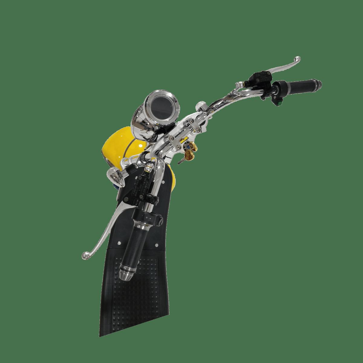 Citycoco Harley Deluxe Jaune avec 1 batterie offerte en plus 15