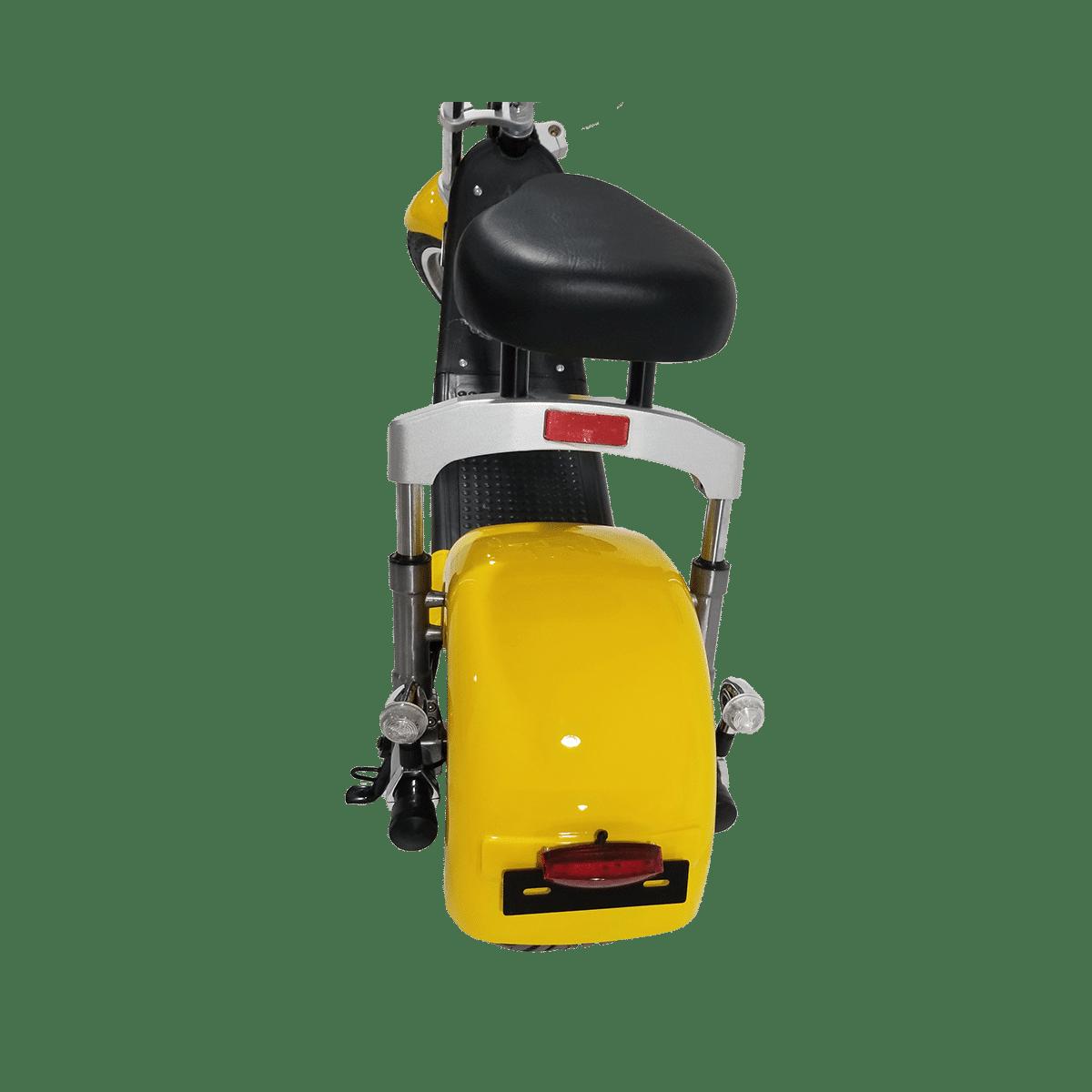 Citycoco Harley Deluxe Jaune avec 1 batterie offerte en plus 14