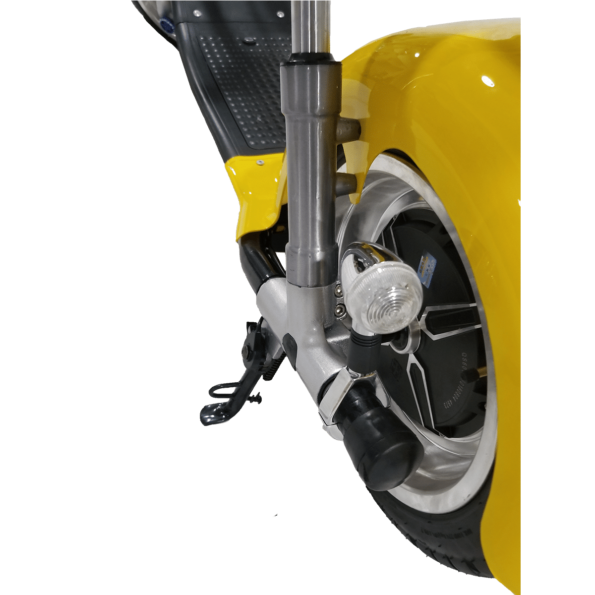 Citycoco Harley Deluxe Jaune avec 1 batterie offerte en plus 13