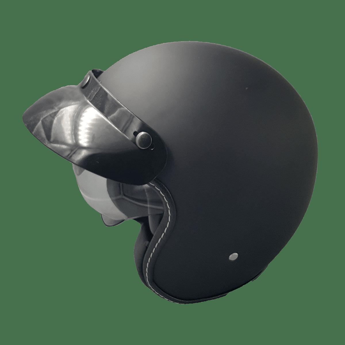 Casque Noir Mat Citycoco M 2